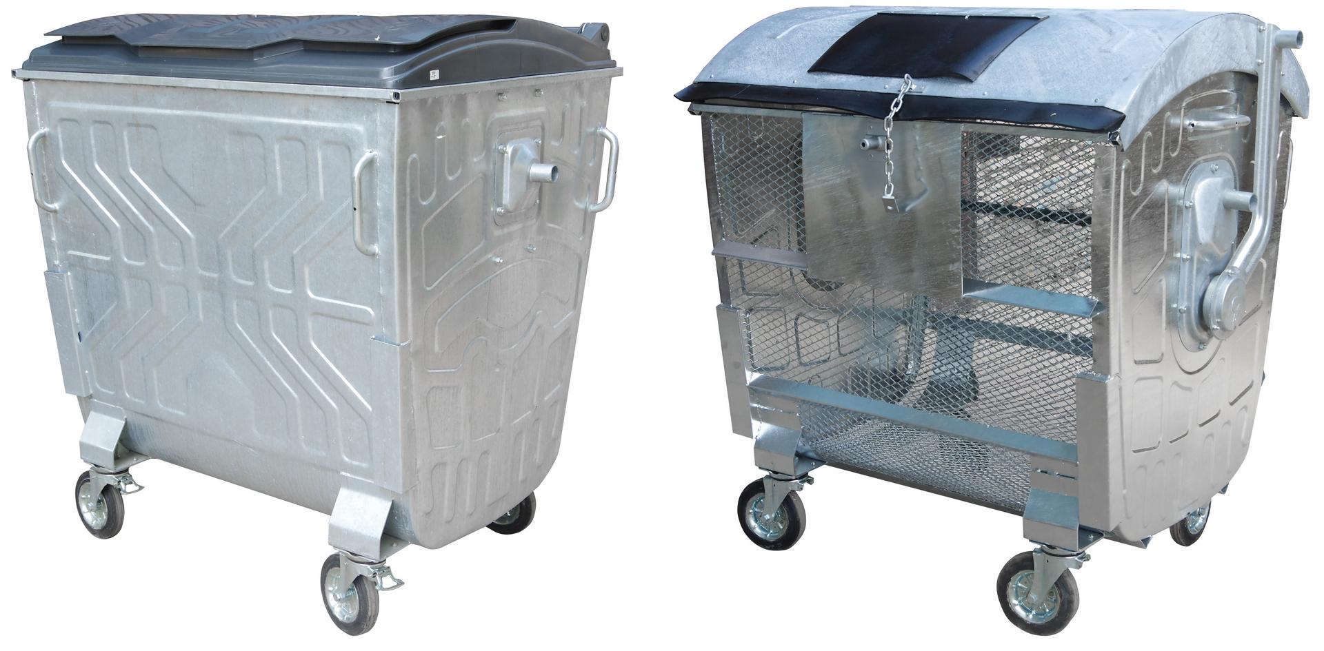 Евроконтейнеры для сбора твердых бытовых отходов