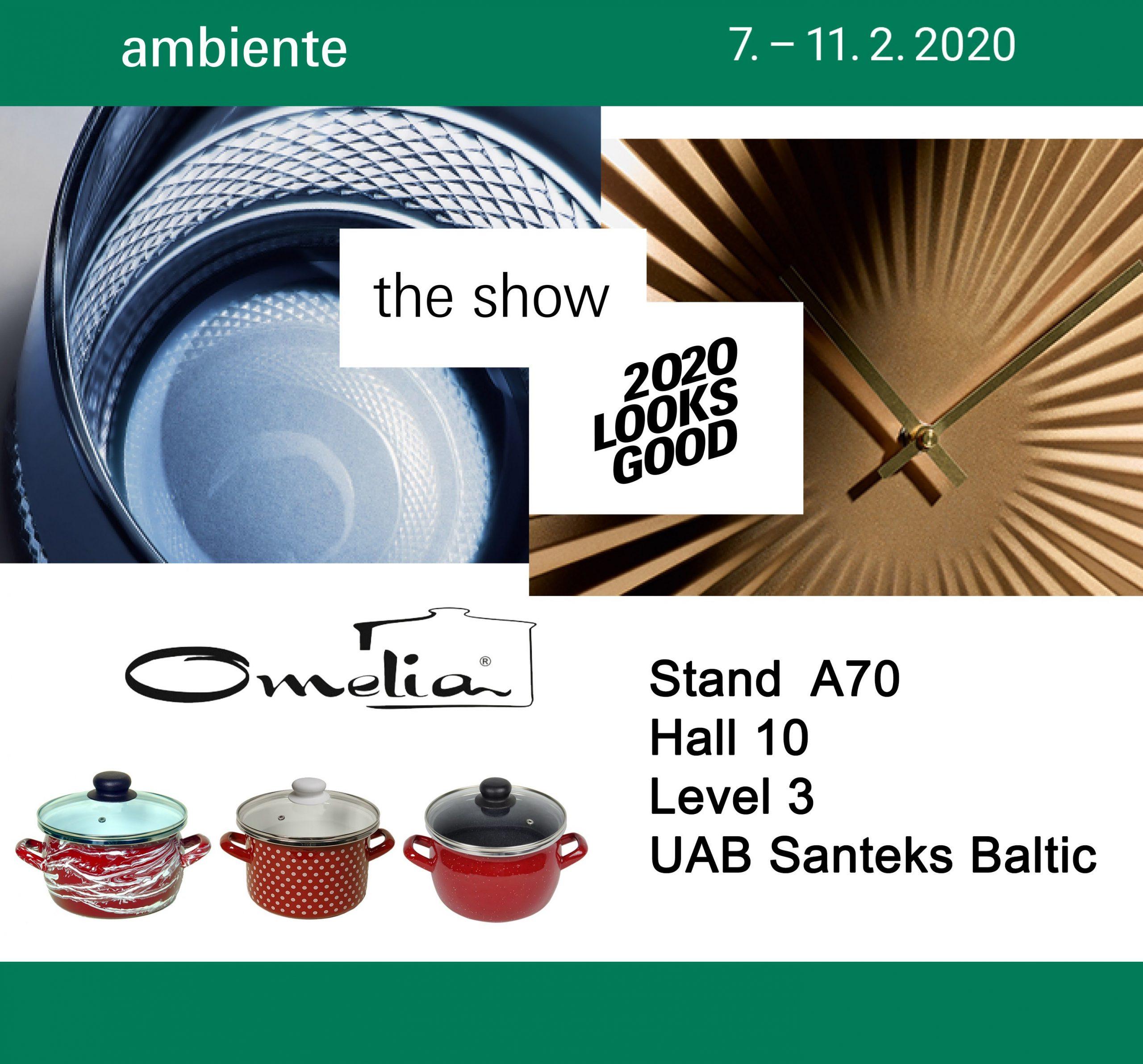 Выставка Ambiente — 2020. Германия.